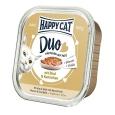 Happy Cat Duo Hapjes Rund & Konijn  100 g