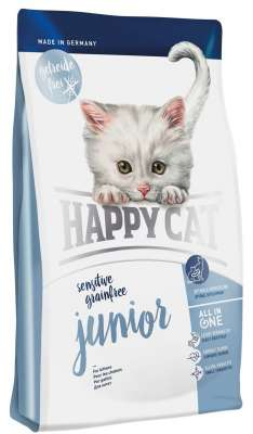 happy cat sensitive grainfree junior met gevogelte en aardappelen 4 kg 300 g 1 4 kg koop. Black Bedroom Furniture Sets. Home Design Ideas
