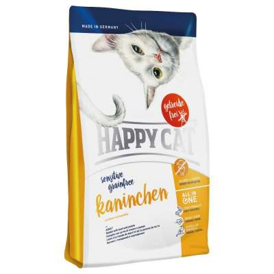 Happy Cat Sensitive Grainfree Kaninchen - (Nyúl) 1.4 kg, 300 g, 4 kg