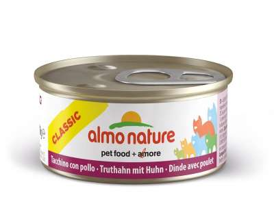 Almo Nature Classic Truthahn mit Huhn 70 g