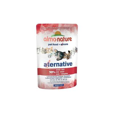 Almo Nature Alternative Rundvlees in de Zak 55 g