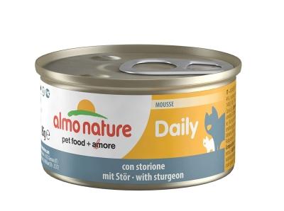 Almo Nature DailyMenu Mousse cu Sturion 85 g