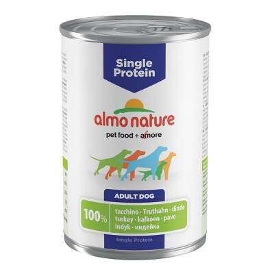 Almo Nature Single Protein Turkey  400 g