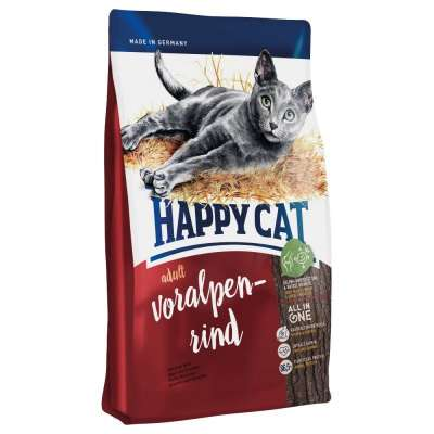 Happy Cat Supreme Adult - naudanliha 12 kg, 1.8 kg, 10 kg, 4 kg, 1.4 kg, 300 g