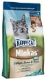 Happy Cat Minkas Mix con Pollame, Agnello e Pesce 4 kg - Cibo per gatti adulti