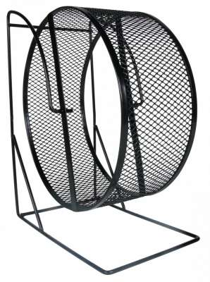 Trixie Exercise Wheel with Closed Mesh Running Surface 22 cm