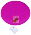 Dog/Cat Spinny Plastic Pink Magenta fra Nina Ottosson