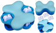 Nina Ottosson Dog/Cat Blue Tornado Plastic  billige