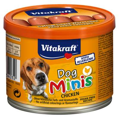 Vitakraft Dog Minis 120 g Pollo