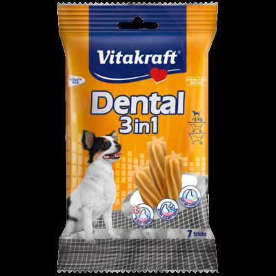 Vitakraft Dental 3en1 XS 70 g Volaille & Riz & Froment