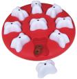 Dog Smart plastic, red Rood van Nina Ottosson