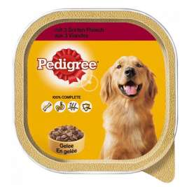 3 Kinds of Meat in Jelly Pedigree 3065890128316
