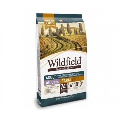 Wildfield Cat Adult Farm com Frango, Pato e Ovos 400 g, 2 kg