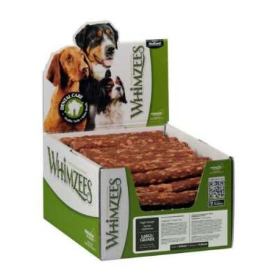 Whimzees Display Veggie Sausage M