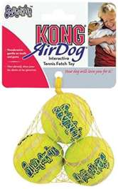 Air Dog - Squeakair Tennisball von KONG XS EAN: 0035585775180