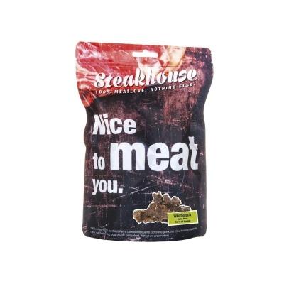 Fleischeslust Steakhouse - Snack Wild 130 g Wildfleisch