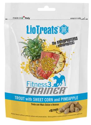 Nova Foods LioTreats - Forelle mit süßem Mais und Ananas Forelle & Mais & Ananas 40 g