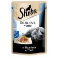 Mit Sheba Portionsbeutel Delikatesse mit Thunfisch in Gelee wird oft zusammen gekauft