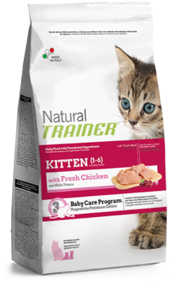 Nova Foods Natural Trainer Cat - Kitten mit frischem Huhn 7.5 kg, 300 g, 1.5 kg