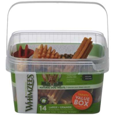 Whimzees Variety Value Box Large Treats 14 pcs. L