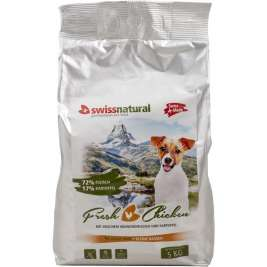 Dog Mini Adult Fresh Chicken von Swiss Natural 5 kg EAN: 7640118291063