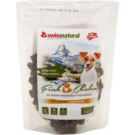 Dog Mini Adult Fresh Chicken von Swiss Natural 140 g EAN: 7640118291049