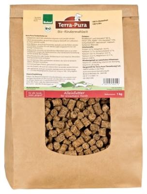 Terra Pura Bio-Rindermahlzeit Ternera para Perros  5 kg, 1 kg