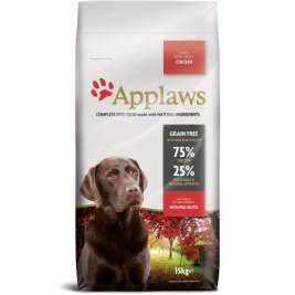 Applaws Adult Large Breed kansaa Kana  15 kg