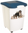 Pet Food Container 4Cats  Branco