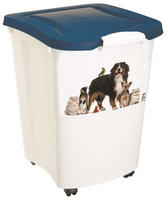 4Cats  Futtercontainer Weiß 38 l