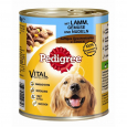 Pedigree Juicy Slices Lamb, Vegetables and Pasta 800 g Billig
