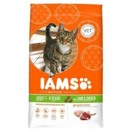 Cat Proactive Health Adult met Lam & Kip Iams 8710255127255