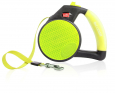 Wigzi Reflective Gel Leash, Yellow Keltainen