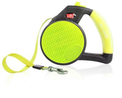 Wigzi Reflective Gel Leash, Yellow Gul S