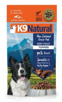 K9 Natural Topper Beef  142 g