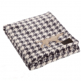Fleece Blanket - Houndstooth Tall Tails 50x76 cm