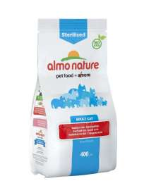 Sterilised Adult Cat mit Rind & Reis Almo Nature  8001154125917