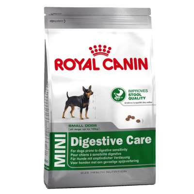 Royal Canin Size Health Nutrition Mini Digestive Care  800 g, 4 kg, 2 kg, 10 kg