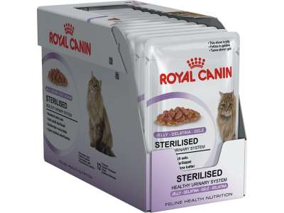 Royal Canin Feline Health Nutrition - Multipack Sterilised in Jelly 12x85 g