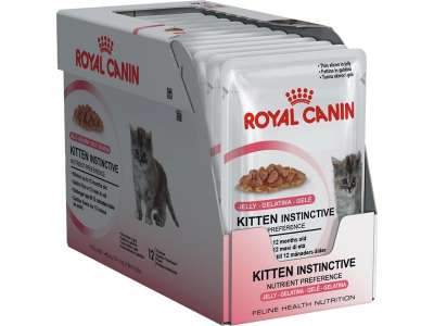 Royal Canin Feline Health Nutrition Multipack Kitten Instinctive in Gelee 12x85 g