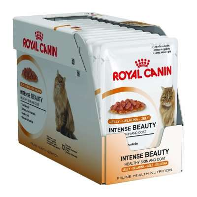 Royal Canin Feline Health Nutrition Multipack Intense Beauty i Gelé 12x85 g