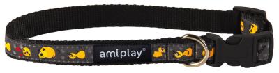 Amiplay Adjustable Collar Wink Svart S