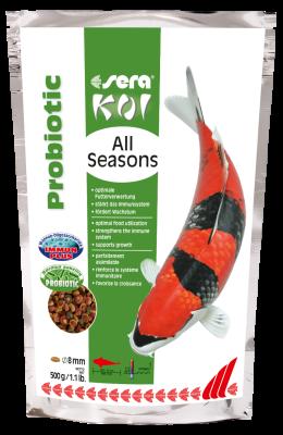Sera Koi All Seasons Probiotic 500 g