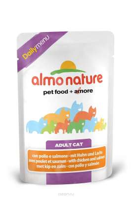 Almo Nature DailyMenu mit Huhn und Lachs 70 g