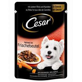 Cesar Portionsposer, Selection in Sauce  100 g