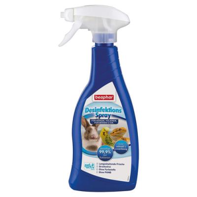 Beaphar Desinfektionsspray für Nager und Vögel 500 ml