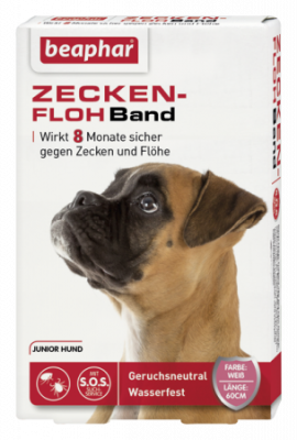 Beaphar Flea&Tick Collar for Junior Dogs 60 cm