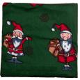 Motif Cushion Valerian Christmas Verde scuro da 4Cats