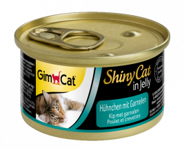 GimCat ShinyCat in Jelly Chicken with Shrimp  70 g