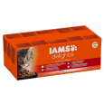Iams Delights Land and Sea Collection for Adult Cats in Gravy 48x85 g